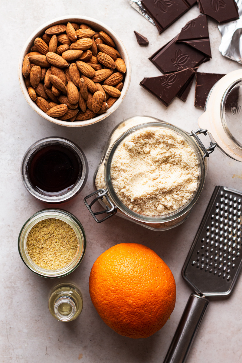 vegan almond cookies ingredients
