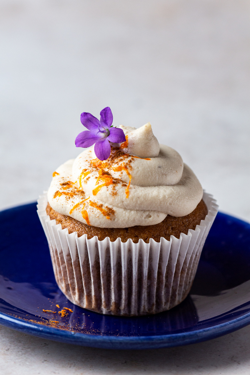 vegan carrot cupcakes one