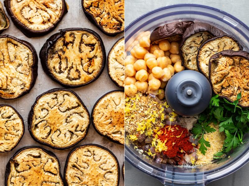 vegan meatball platter ingredients