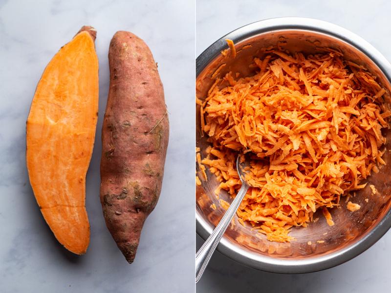 sweet potato hash browns ingredients