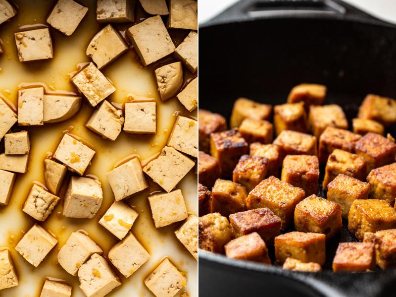 healthier vegan pad thai tofu