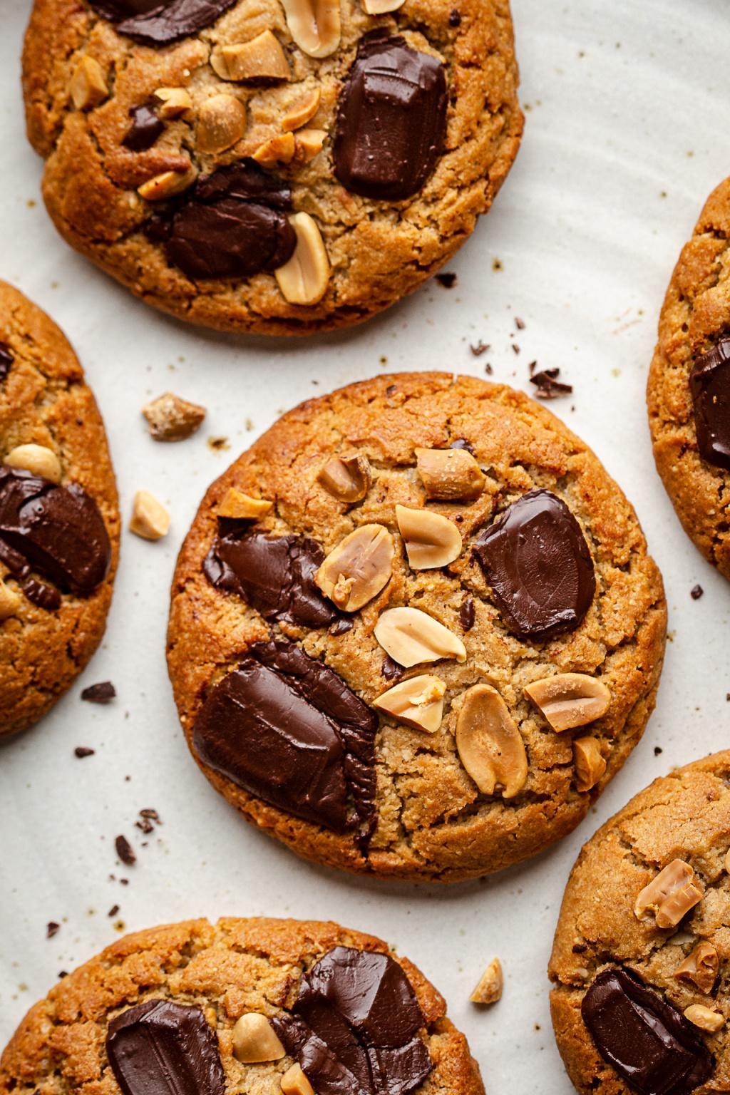 Vegan Peanut Butter Cookies Lazy Cat Kitchen