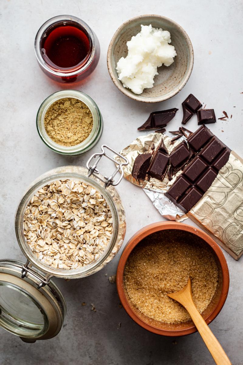 vegan oat cookies ingredients