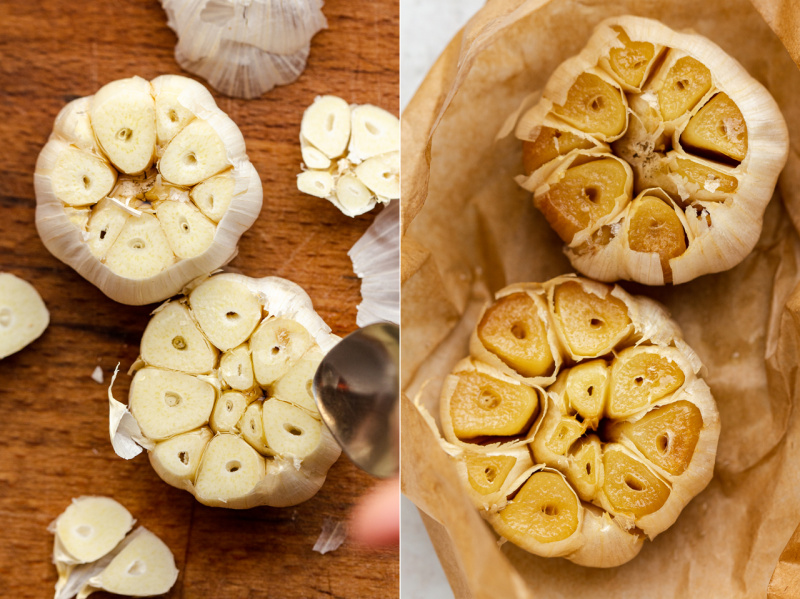 greek-inspired chickpea stew garlic