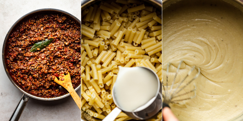 vegan pastitsio ingredients