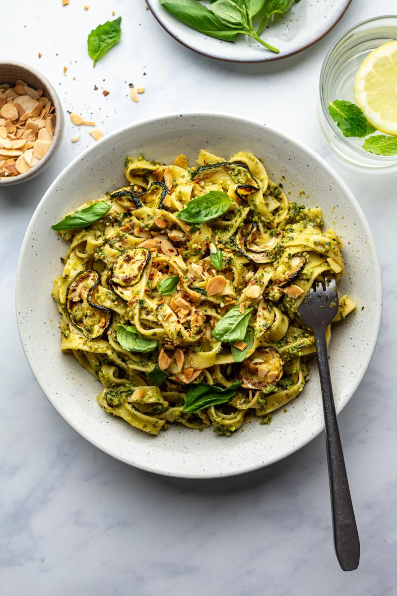zucchini pasta sauce pasta