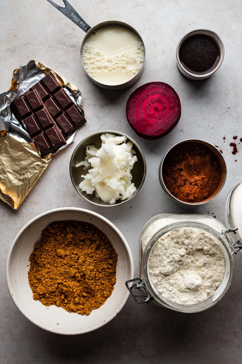 vegan beetroot cake ingredients