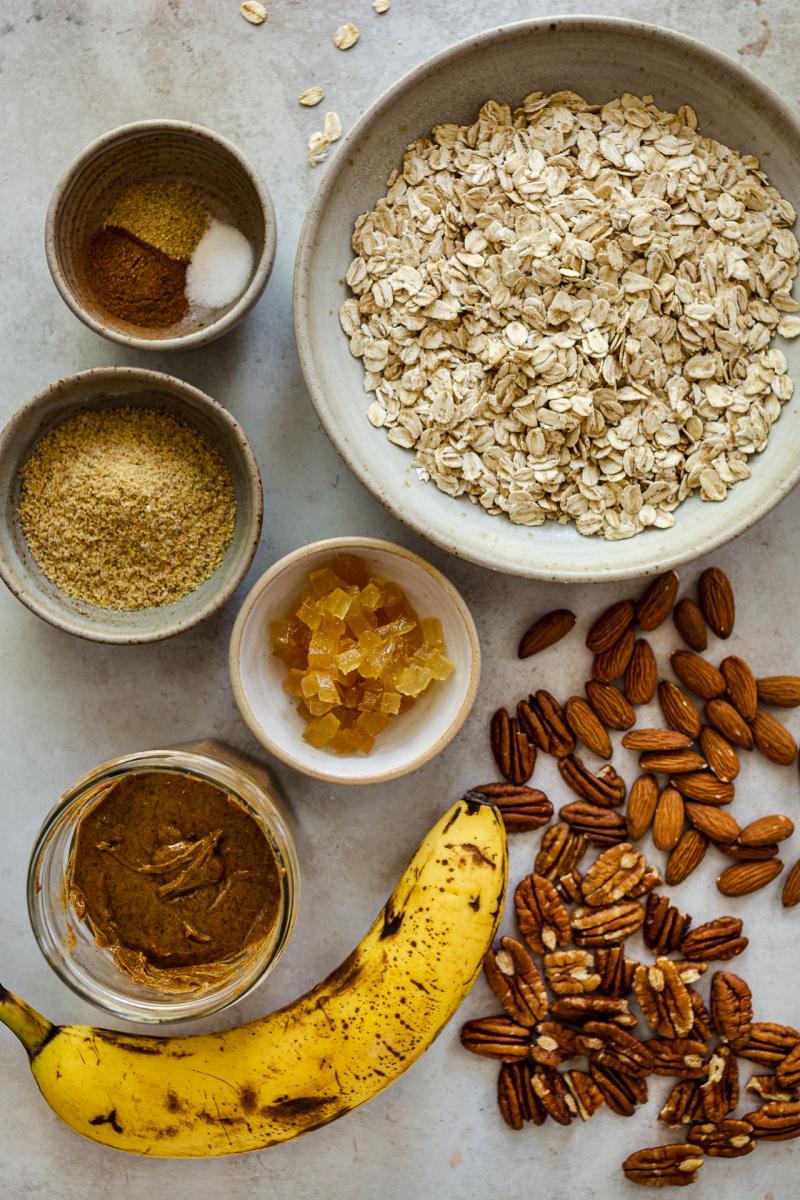 bahan granola sehat