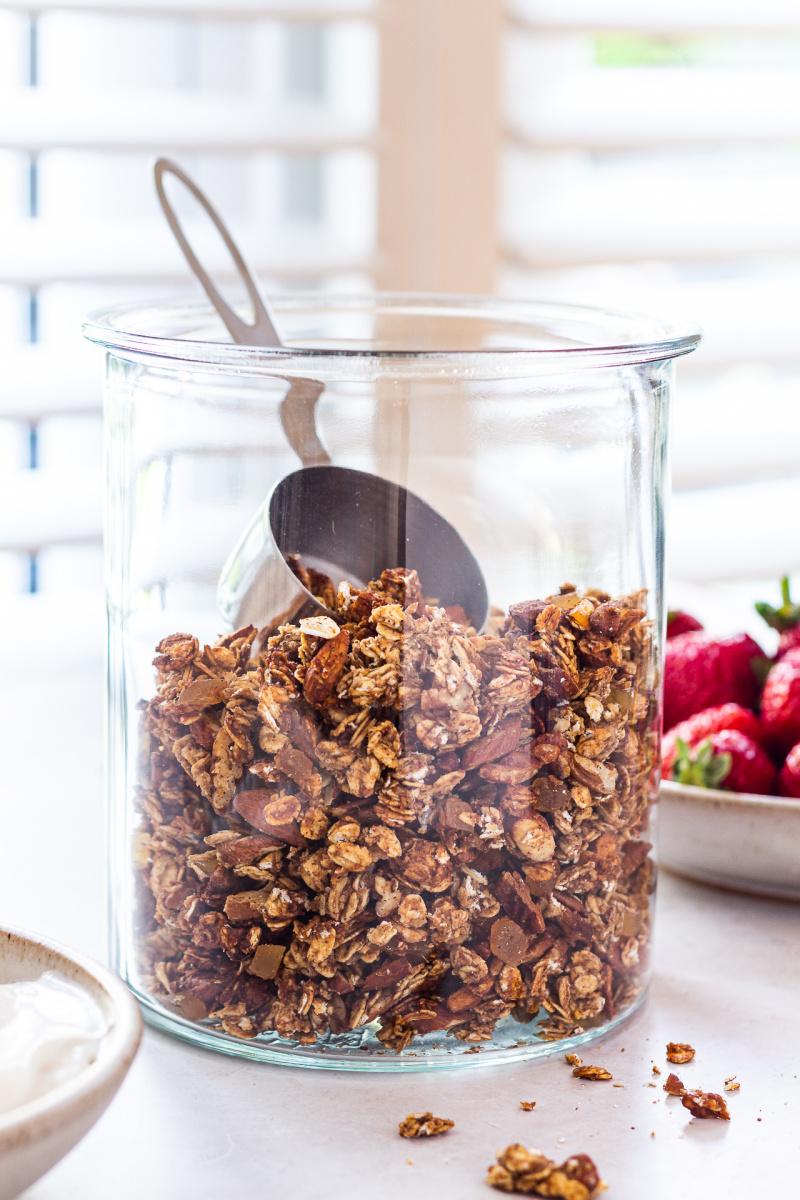 toples granola sehat