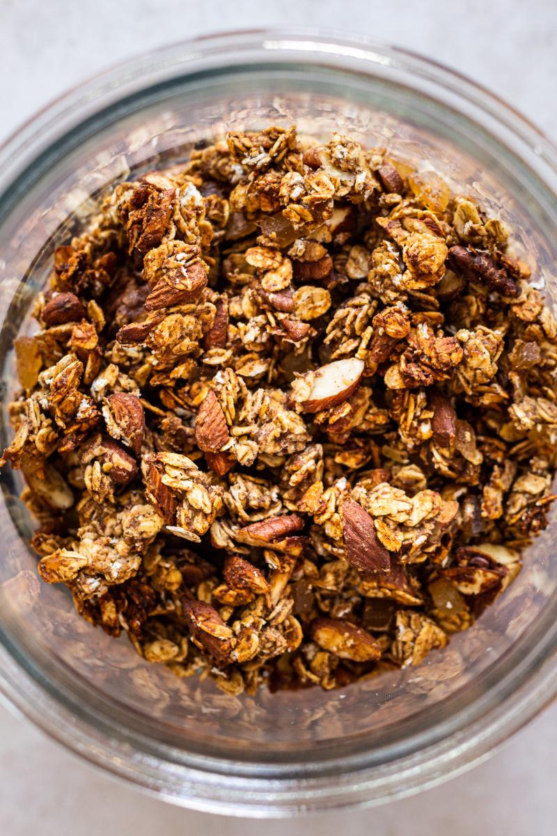 toples granola sehat top down