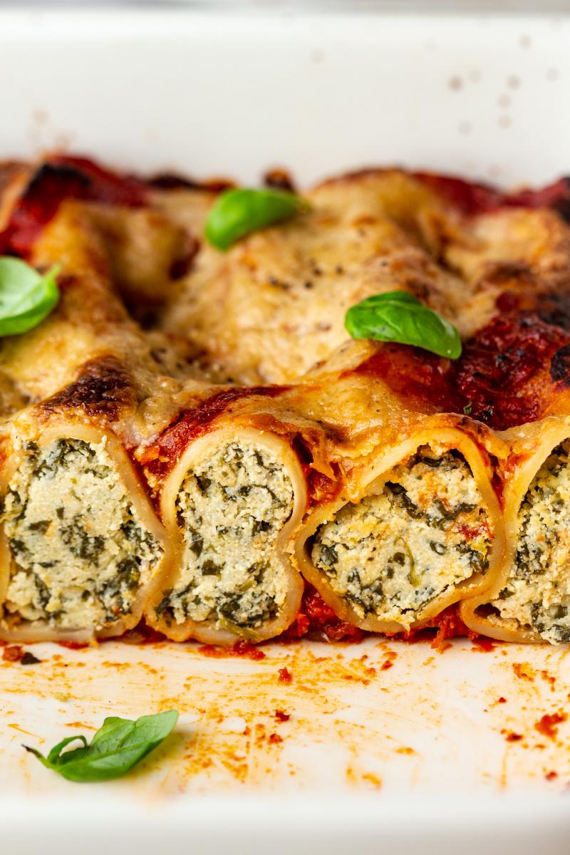 vegan cannelloni cross
