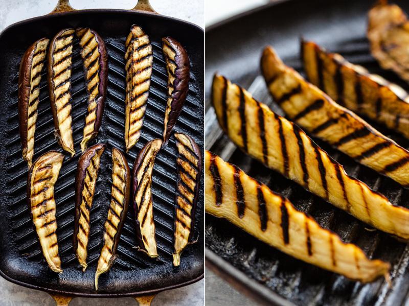 miso eggplant charred