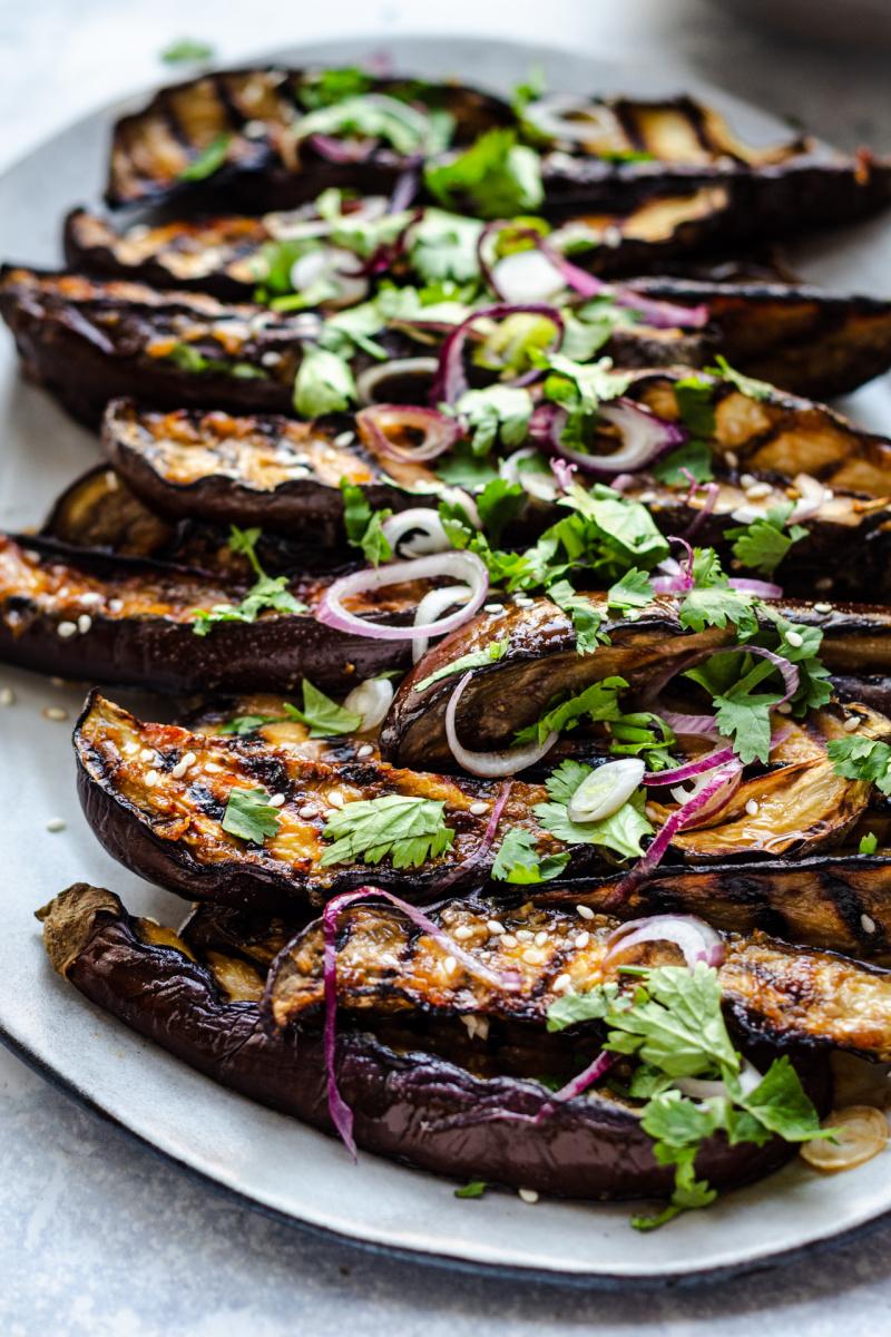 miso eggplant side on