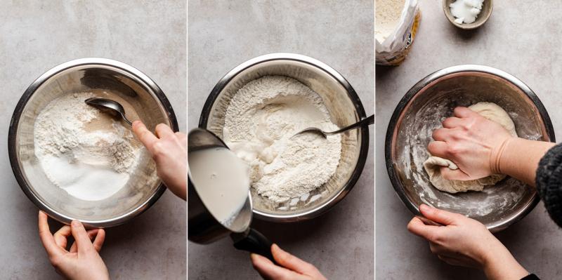 vegan polish sweet cheese rolls dough
