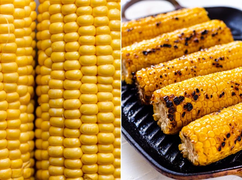vegan corn chowder vegan charred corn