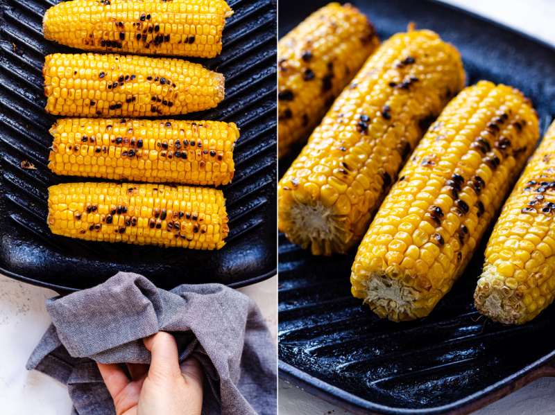 vegan ramen charred corn